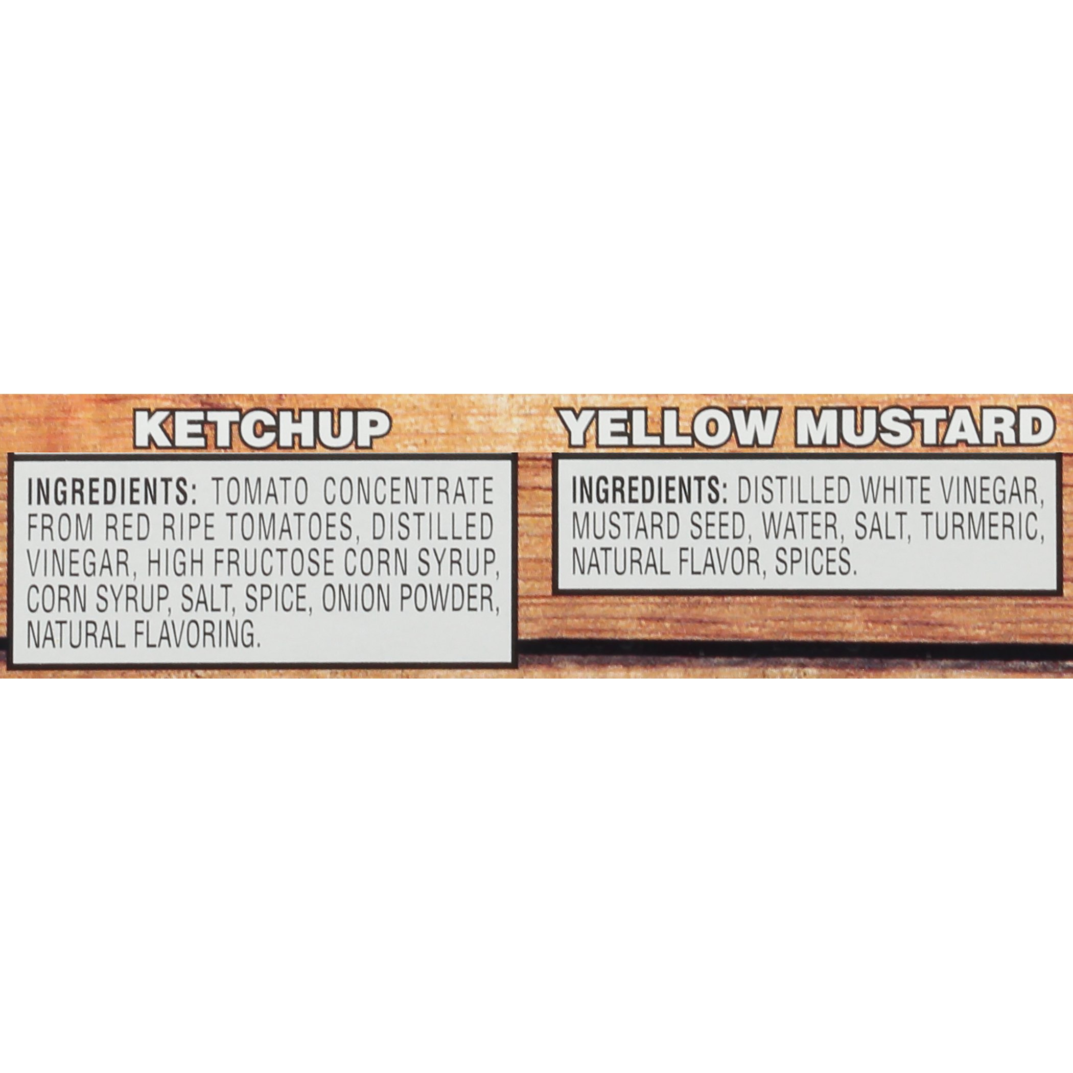 Heinz Ketchup & Yellow Mustard Value Pack, 20 Ounce