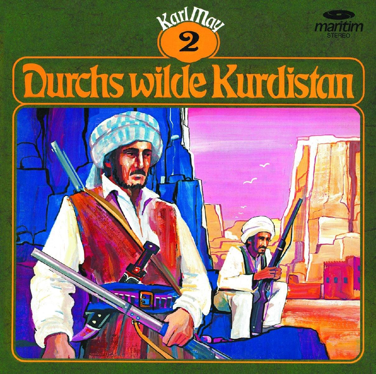 Karl May Klassiker (2) Durchs wilde Kurdistan - Maritim Produktionen 1975 / 2017