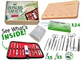 Suture Practice Kit with Suture Guide, High # of