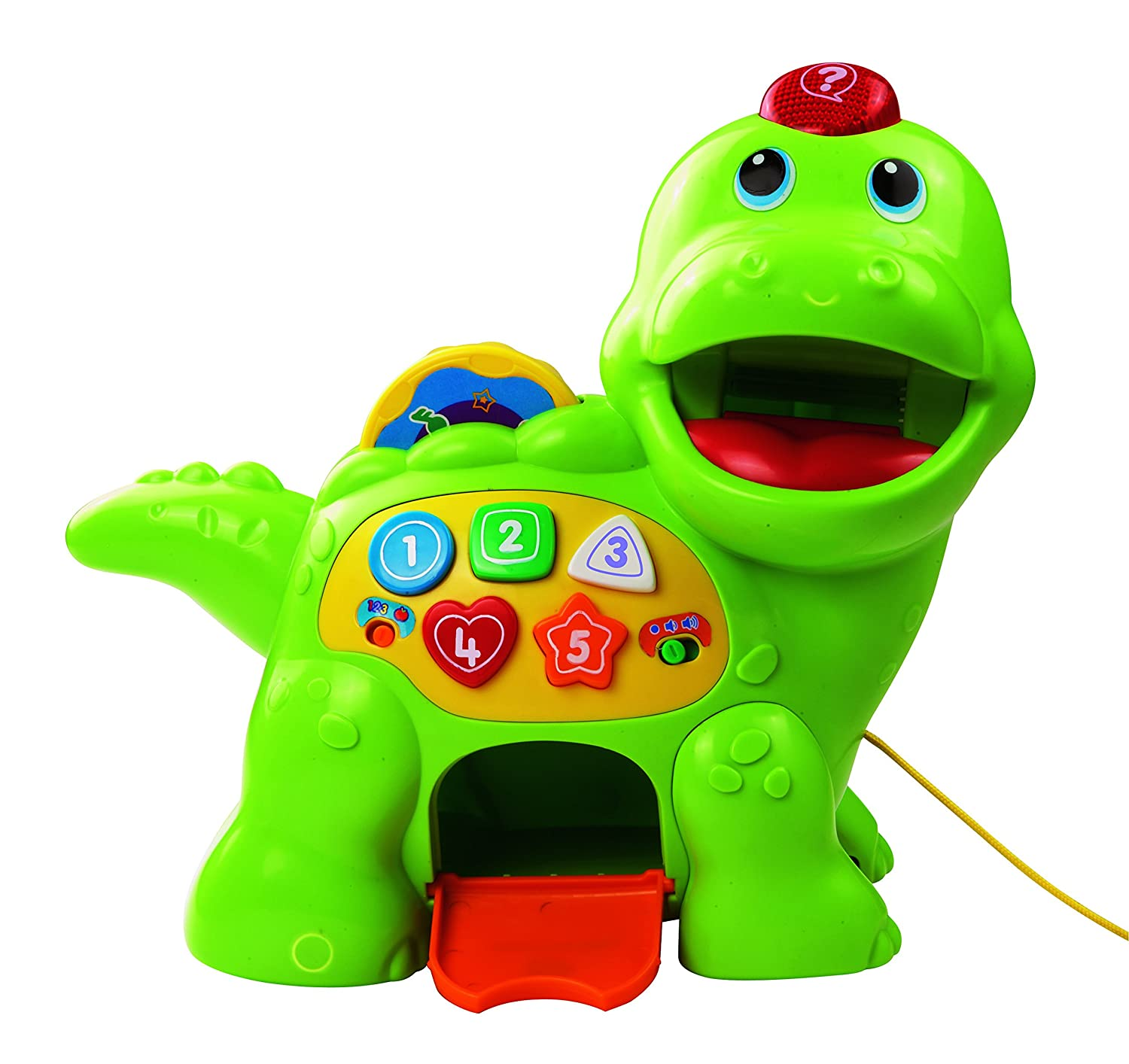 Vtech Baby Feed Me Dino Recognises Colours  Food!  Songs! Se