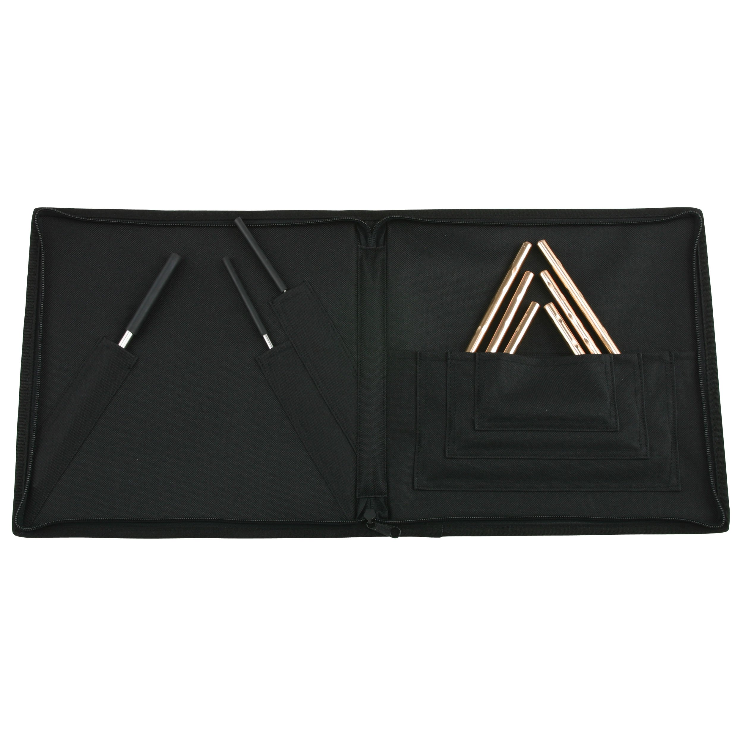 Sabian 61140H Hand Hammered Triangle Set with Beaters and Case