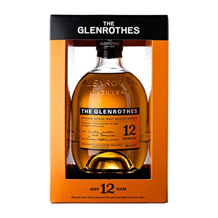 82083d65f The Glenrothes 12 Year Old Speyside Single Malt Scotch Whisky