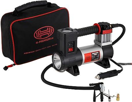 Professioneller 12 V Kompressor Belastbar 40 L Mit Led Taschenlampe Auto