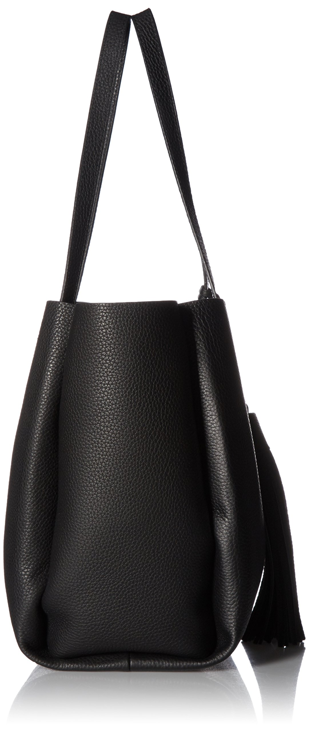 Vince Camuto Nylan Bonded Small Tote, Nero by Vince Camuto (Image #3)