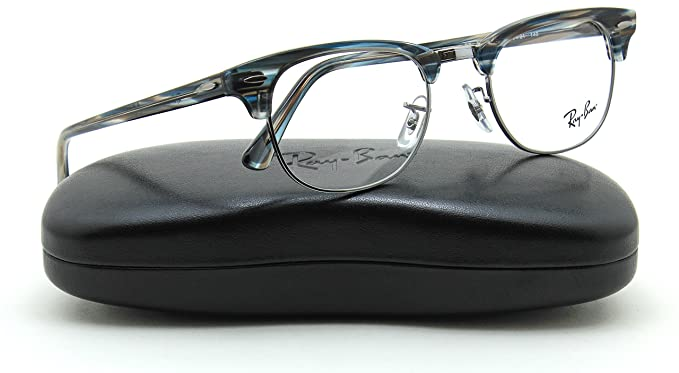 fae8a014b5 Image Unavailable. Image not available for. Colour  Ray-Ban RX5154 5750  Unisex Clubmaster ...