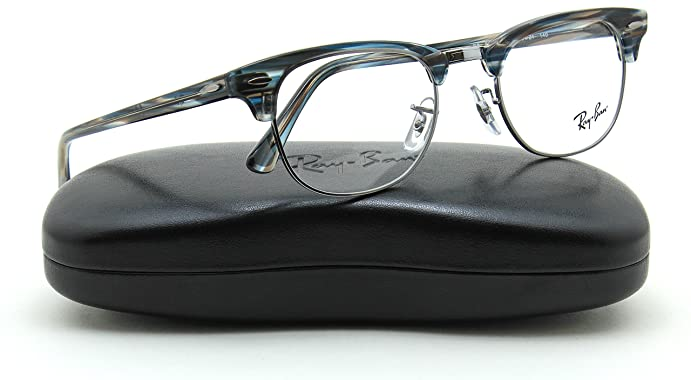 40888cc672 ... wholesale ray ban rx5154 5750 unisex clubmaster eyeglasses rx able  frame 49mm 970fa 0be6c ...
