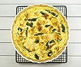 HIC Harold Import Co. 98015 Quiche Dish, Round, 8