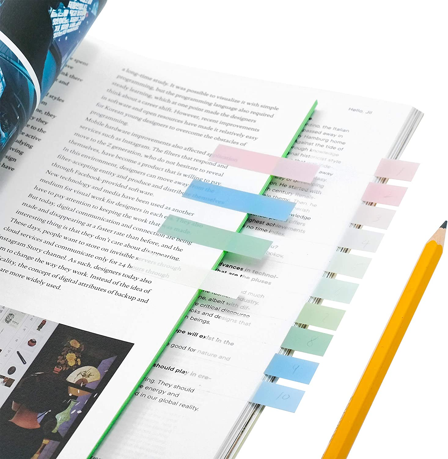 Classify File. Writable and Repositionable File Tabs Flags for Pages or Book Markers Reading Notes souG 640 Pieces Markers Index Tabs 3 Size Sticky Index Tabs