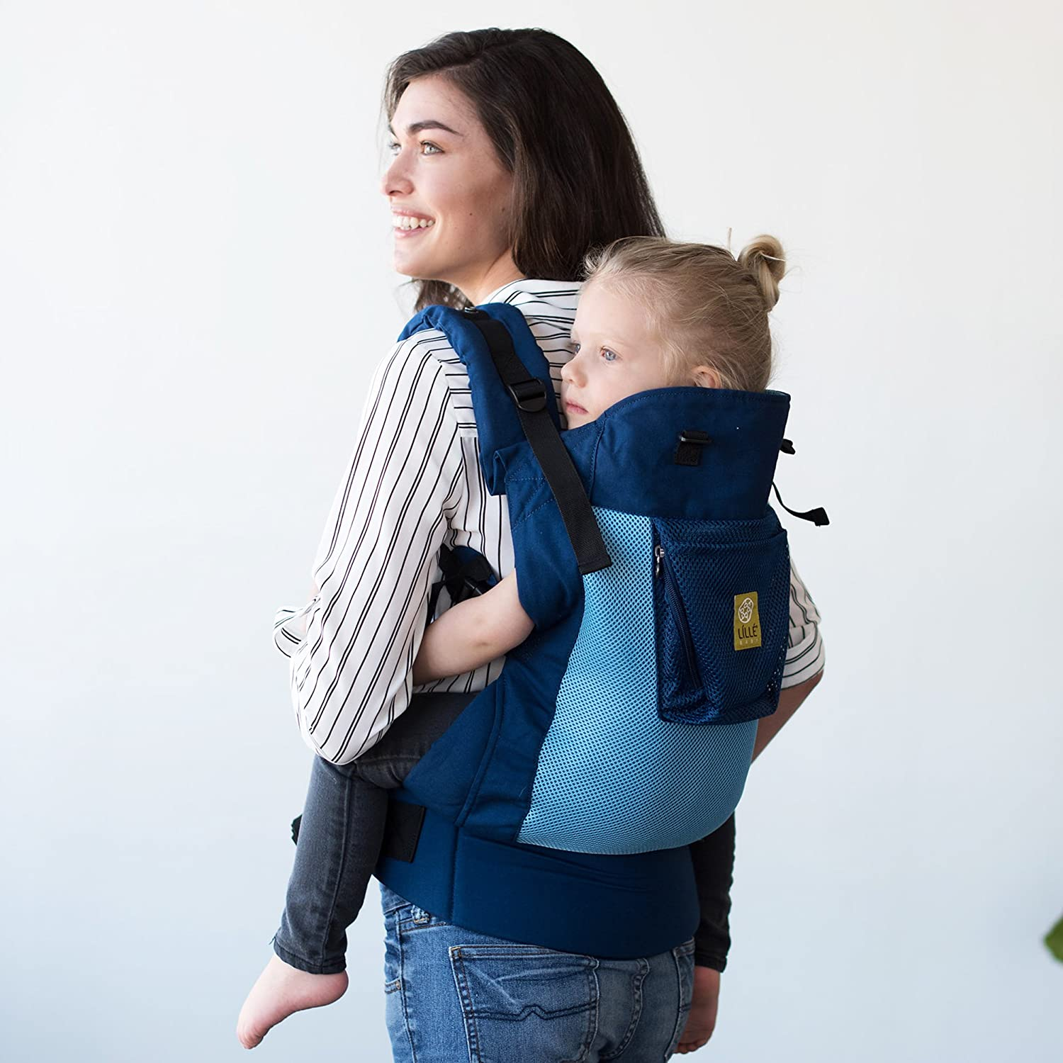 4bf291f2092 Charcoal Silver LILLEbaby CO-4A-404-N Airflow LÍ LLÉ baby 3 in 1 CarryOn  Toddler Carrier