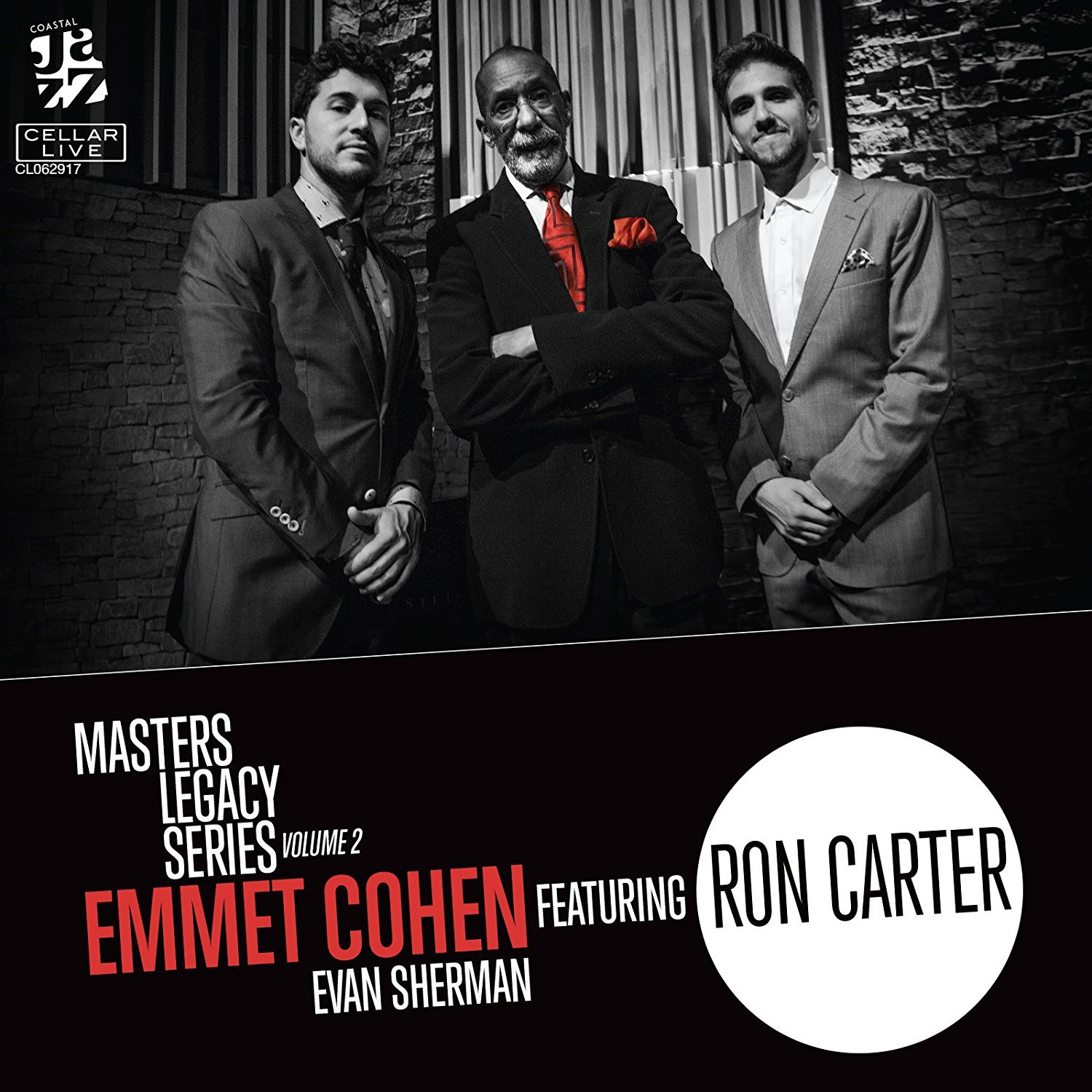 CD : Emmet Cohen - Masters Legacy Series 2: Ron Carter (CD)