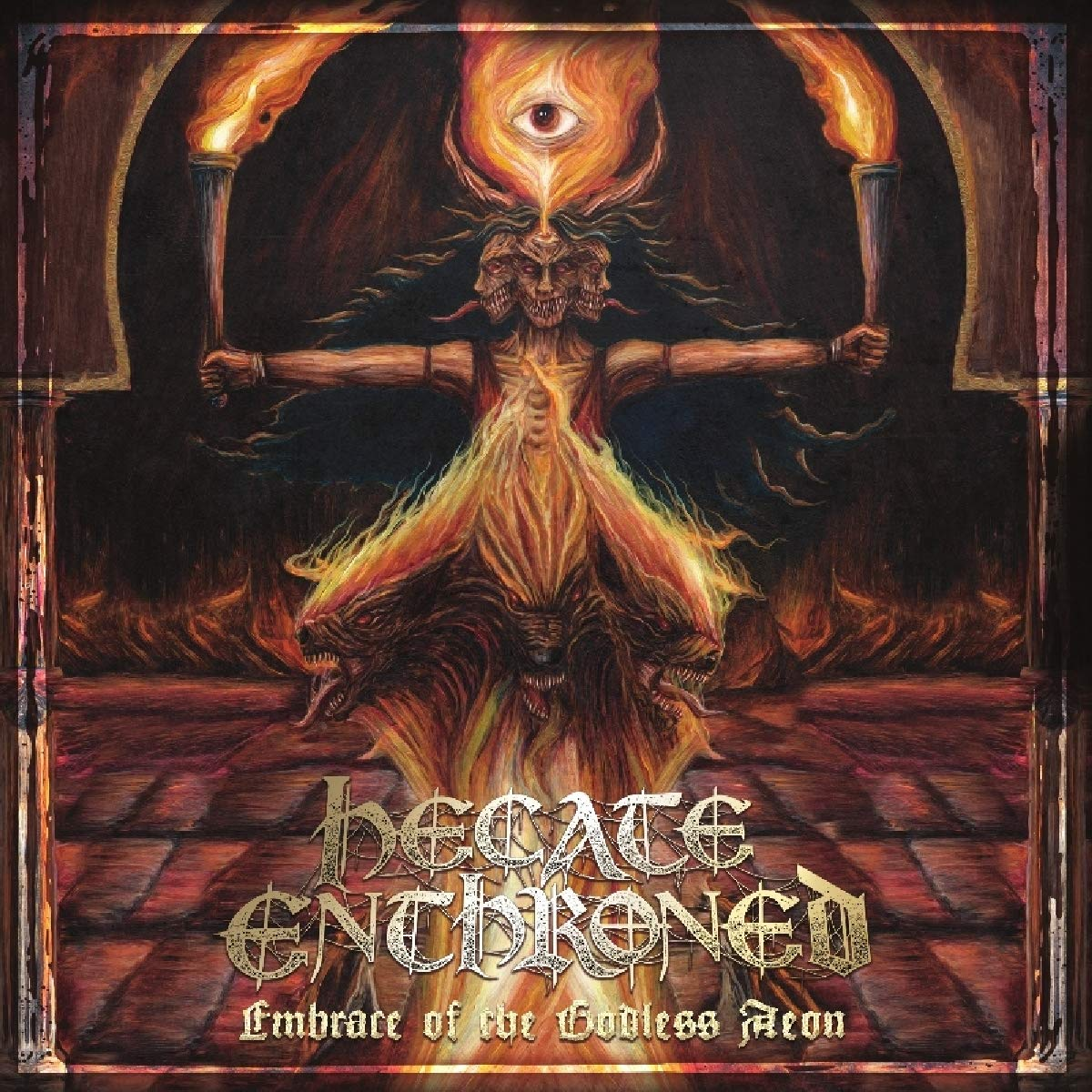 CD : Hecate Enthroned - Embrace Of The Godless Aeon (CD)