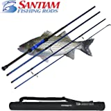 Santiam Fishing Rods Travel Rod 4 Piece 11' 17-40lb Surf Rod