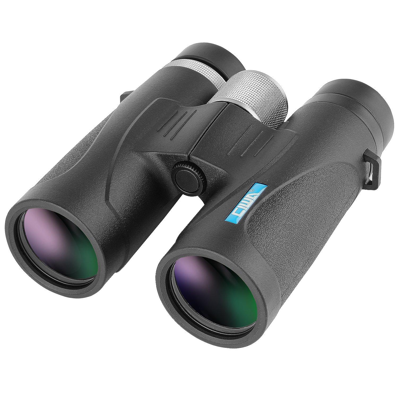Ciwa 10X42 Binoculars Adults Compact HD Professional Binoculars Bird Watching Lightweight Travel Stargazing Hunting Concerts Sports by Ciwa