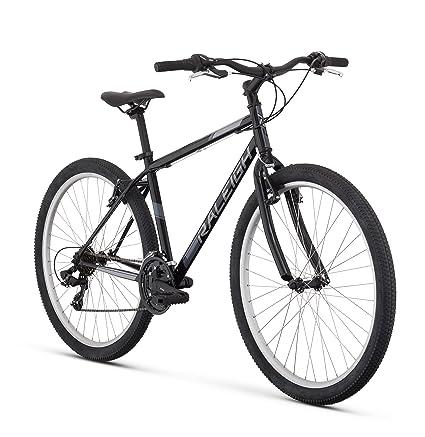 "5c674527c13 RALEIGH Talus 1 Recreational Mountain Bike, 13"" /XS Frame, Black,  13&quot"