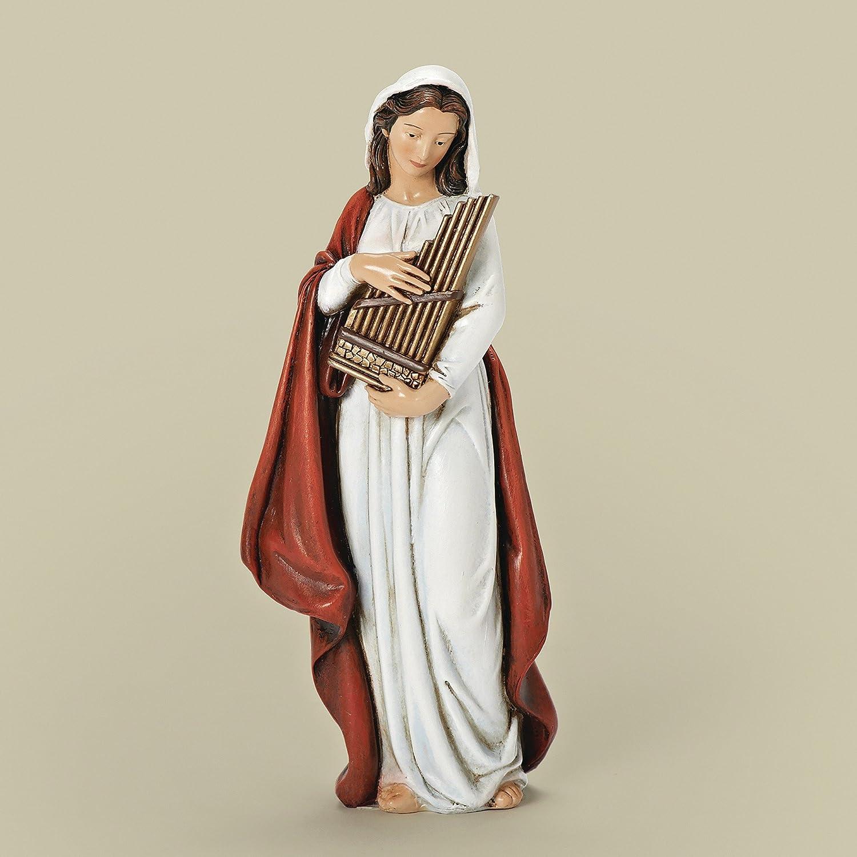 Joseph Studio Renaissance Saint Cecilia Patroness of Musicians Figurine 66919
