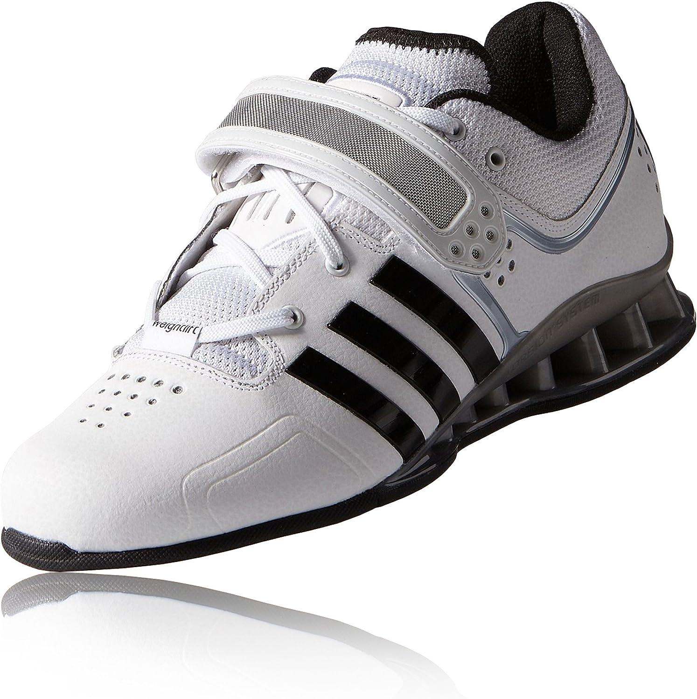 Amazon.com | adidas Adipower Weightlifting Shoes - 7.5 - White ...