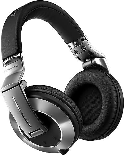 Pioneer DJ DJ Headphone, Silver, 1.6 m twist-sheathed straight cable HDJ-2000MK2-S