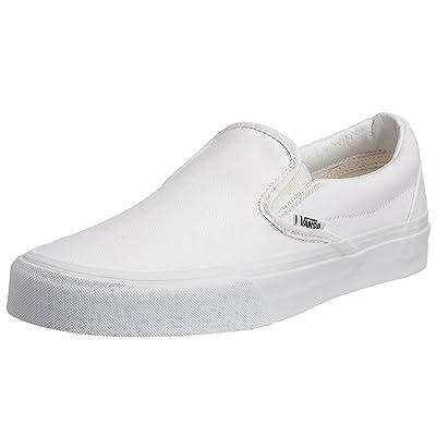 Vans Men Classic Slip-On (White/True White) | Loafers & Slip-Ons