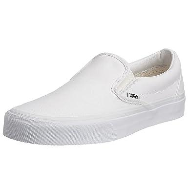 Vans Mens Classic Slipon Trainers  White  B07CMJGHTZ