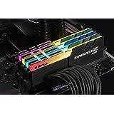 64GB G.Skill DDR4 TridentZ RGB 3200Mhz PC4-25600 CL14 1.35V Quad Channel Kit (4x16GB) for Intel Z270