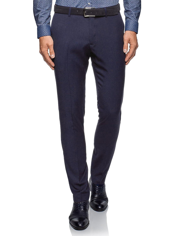 oodji Ultra Hombre Pantalones Ligeros Slim