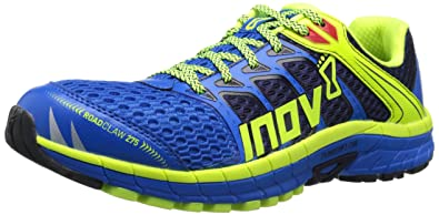 Inov-8 Men's Road Claw 275 Road Running Shoe, Blue/Lime/Navy
