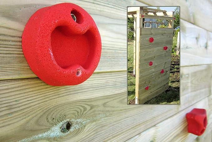 Klettergerüst Rundholz : Gartenpirat klettergerüst premium mit kletterwand spielgerüst aus