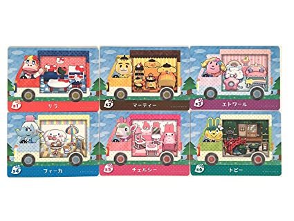 e909a2728 Image Unavailable. Image not available for. Color: amiibo card Sanrio Animal  crossing x all 6P Japan ver. Hello Kitty complete