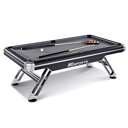 Amazoncom MD Sports BLLM Titan Pool Table Black - Pool table stores in maryland