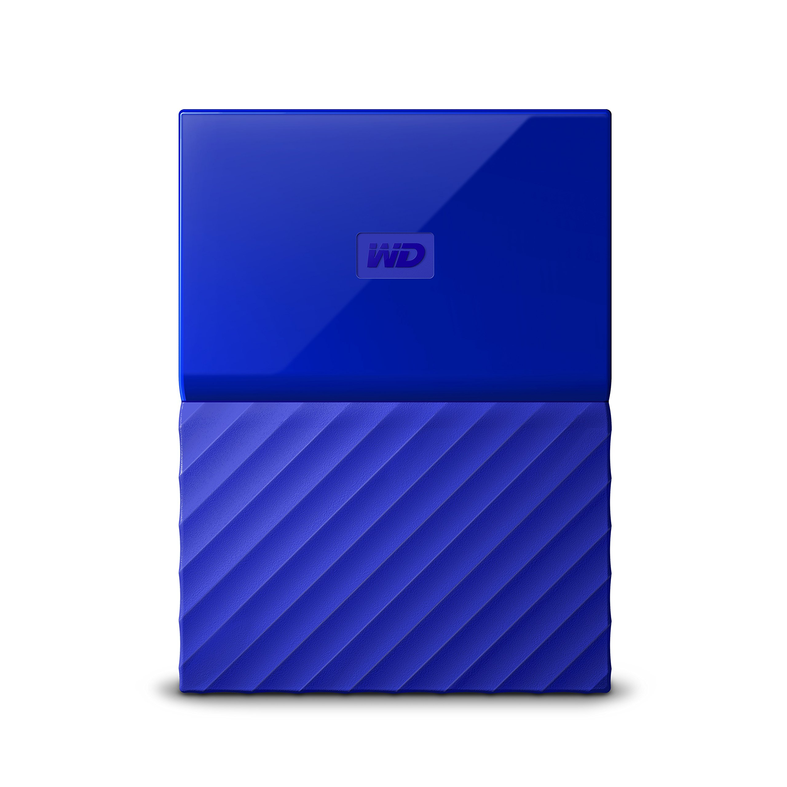 WD 2TB Blue My Passport Portable External Hard Drive - USB 3.0 - WDBYFT0020BBL-WESN