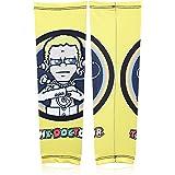 Zoook Moto69 ZMT-BK304-001 Designer Arm Sleeves (Set of 2, Yellow)