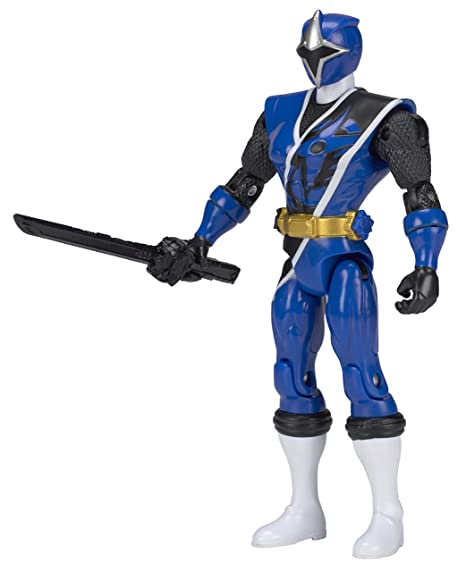 Power Rangers Ninja Steel - Figura acción Ninja Steel Ranger Azul (Bandai 43702)