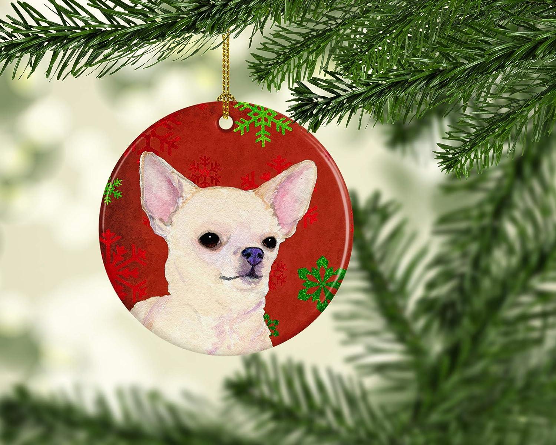 Carolines Treasures Chihuahua Winter Snowflakes Holiday Night Light 6 x 4 Multicolor