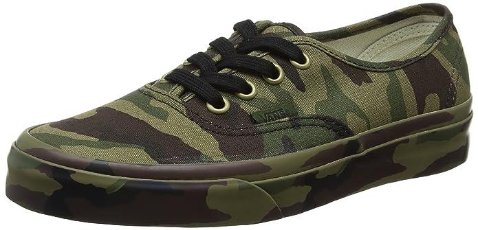 Vans Authentic Sneaker Erwachsene Unisex Grün Camouflage