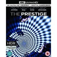 The Prestige (4K UHD + Blu-ray + Digital HD) (3-Disc Set) (Region Free + Slipcase Packaging + Fully Packaged Import)
