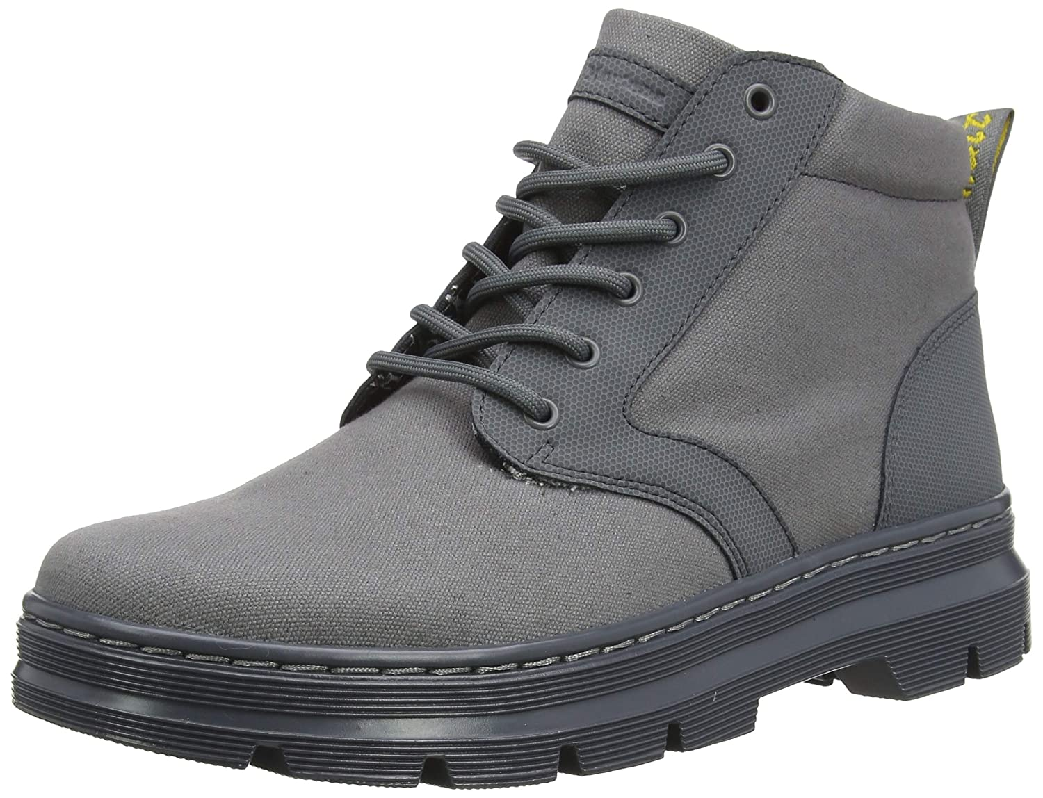 Grey Broder & Grey 10 Oz Canvas Dr. Martens Unisex Adults' Bonny Ii Classic Boots