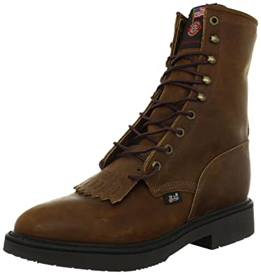 b0759f5fd9e Justin Original Work Boots Men's Double Comfort Work Boot