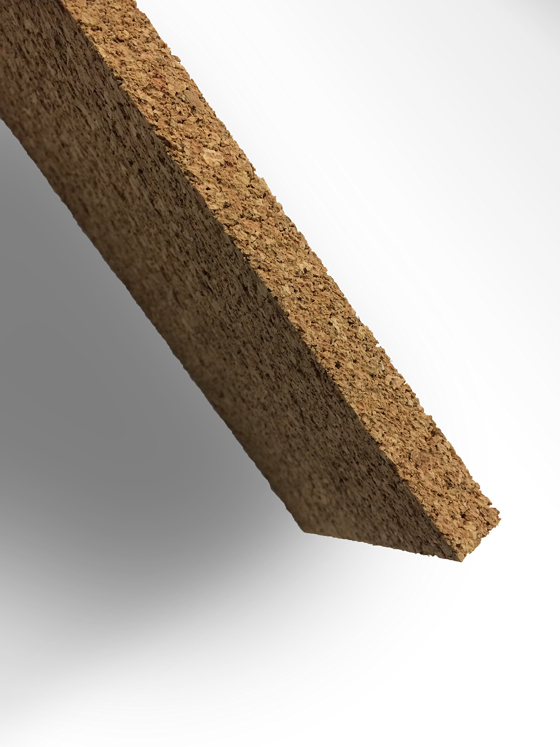 Thick Multi Purpose Cork Strips (8 Pack) Classroom Bulletin Board Bar 36x3.5x0.5 Inches by Jelinek Cork Group (Image #2)