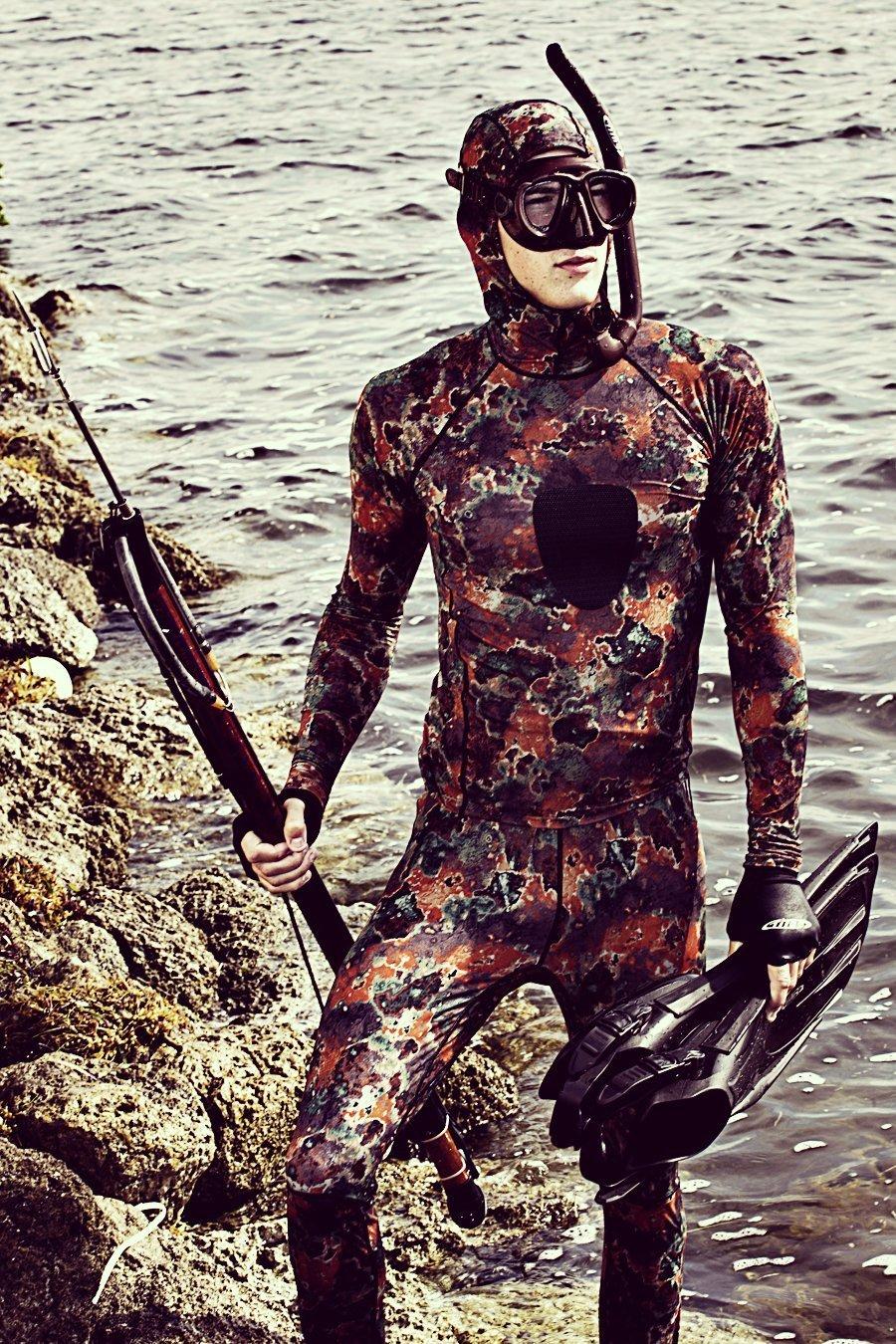 Amazon.com: Tilos, UV Spearfishing camuflaje Licra ...