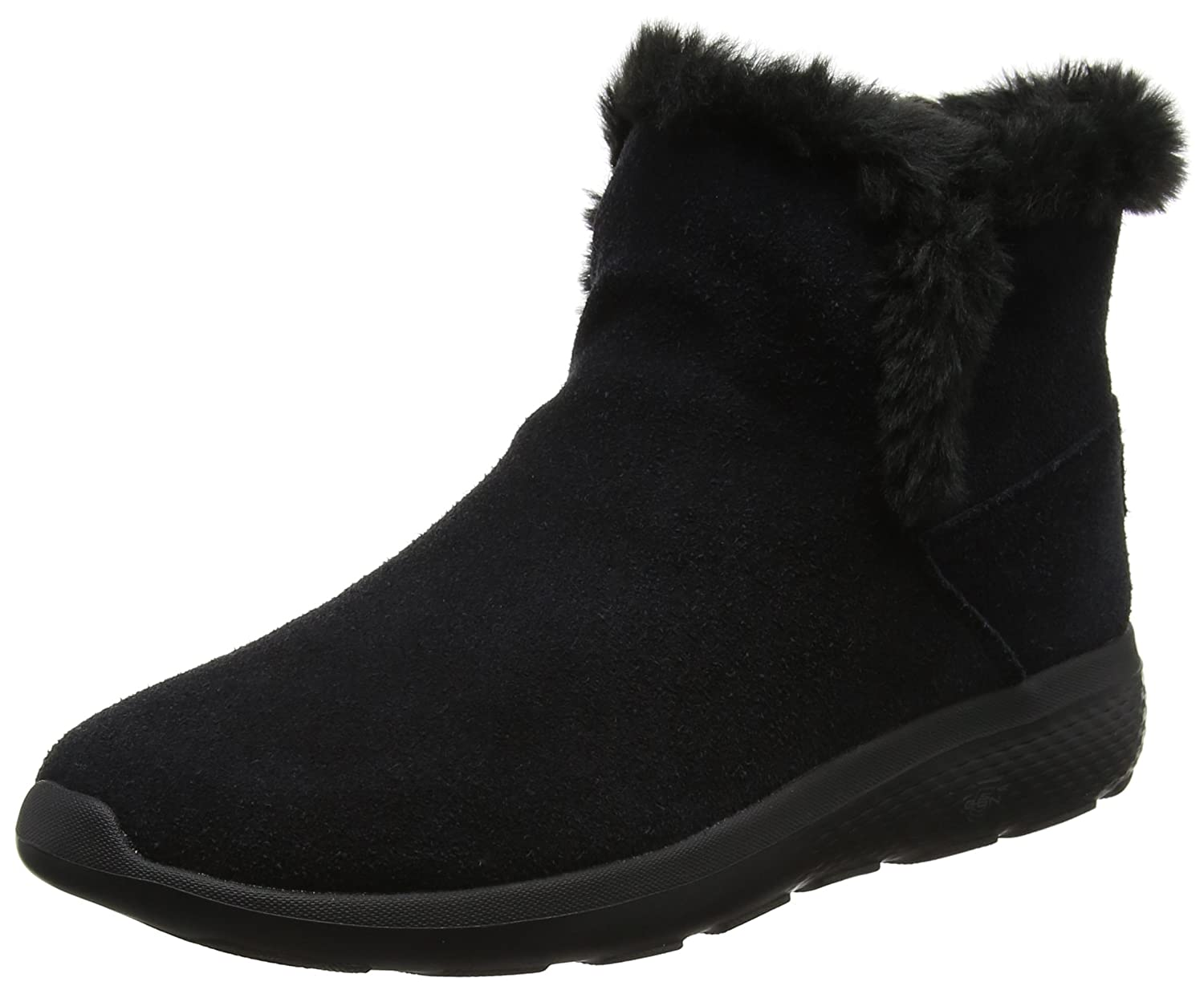 Skechers Damen on-The-Go City 2 Chukka Boots, Char  38.5 EU|Schwarz (Black)