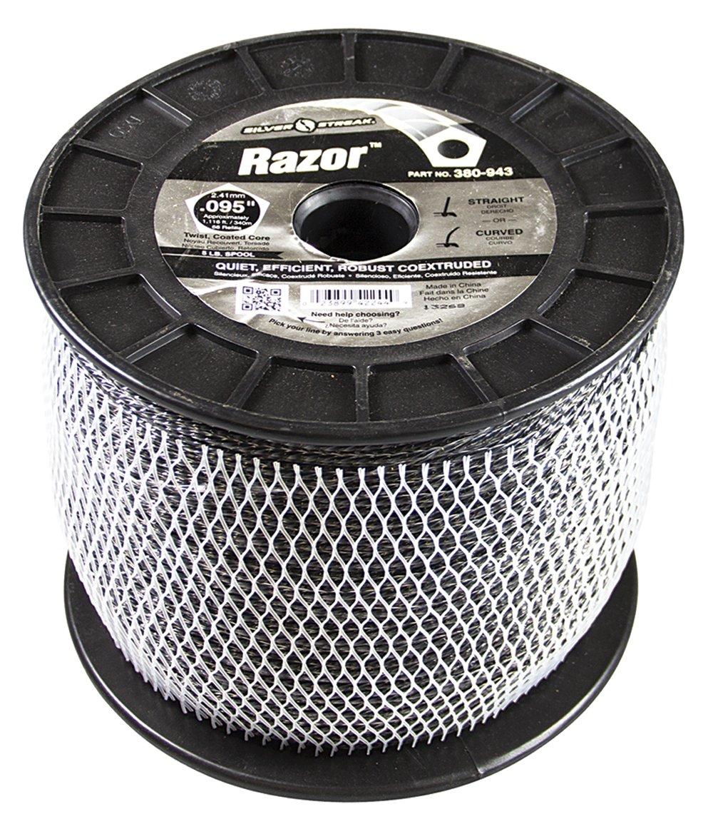 Silver Streak Razor Trimmer Line.095 5 lb. Spool, ea, 1