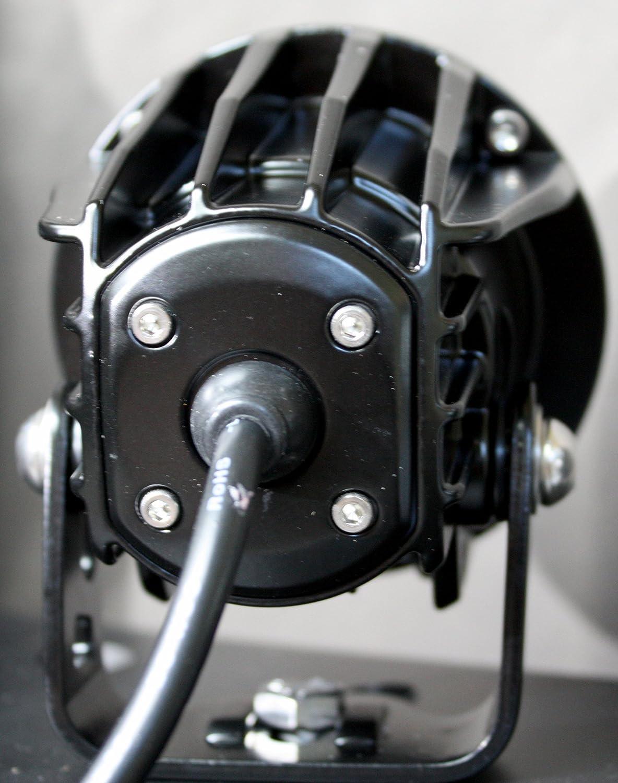 2104 lm Vision X Lighting 9141251 XIL-OPR110KIT-Optimus Rund Kit Series-LED Fernscheinwerfer-2x1 LED 10W-10/°