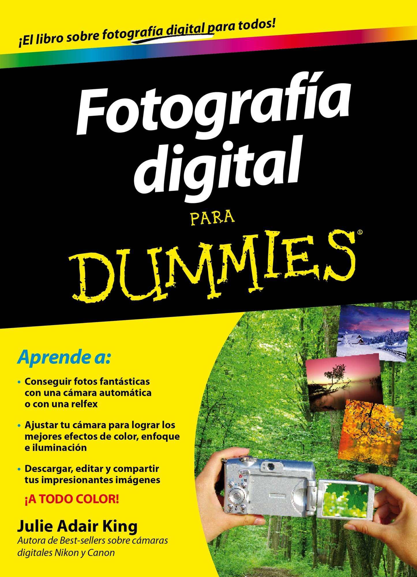Fotografía Digital para Dummies: Amazon.es: King, Julie Adair ...