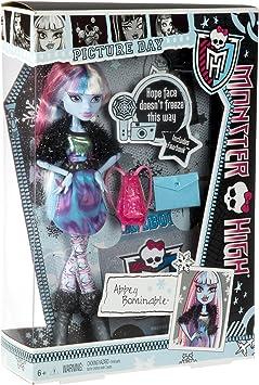 Monster High - Muñeca Abbey (Mattel Y8494): Amazon.es: Juguetes y juegos