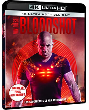 Bloodshot (4K UHD + BD) [Blu-ray]: Amazon.es: Vin Diesel, Toby Kebbell, Eiza González, Sam Heughan, Guy Pearce, Dave Wilson, Vin Diesel, Toby Kebbell, Columbia Pictures, Sony Pictures Entertainment: Cine y Series TV