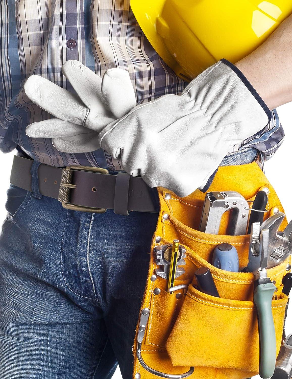 Timberland mens 40mm Workwear Leather Belt Belt