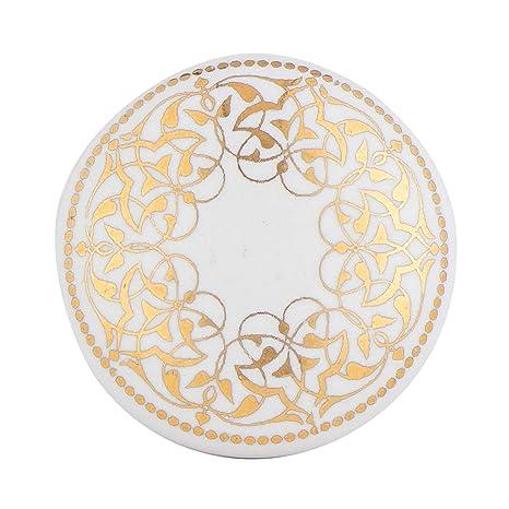 Amazon.com: Juego de 12 blanco de cerámica parisino o pomos ...