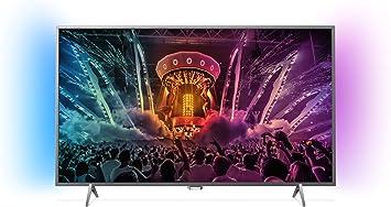 Philips - Tv led 43 43pus6401/12 uhd 4k, ambilight, wi-fi y ...