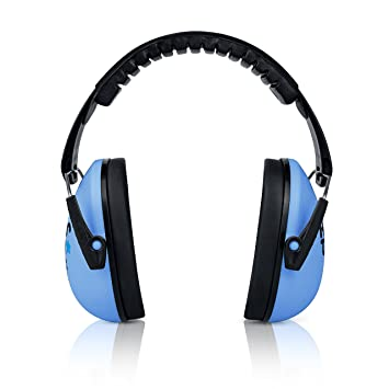 heartek Kids protección auditiva orejeras con viaje Bag- Junior protectores de oído para los niños