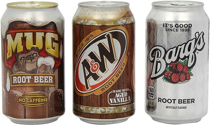 Mug Root Beer Variety Pack incudes 4 x Mug/4 x Barqs and 4 x Aandw (Pack of 12): Amazon.es: Alimentación y bebidas
